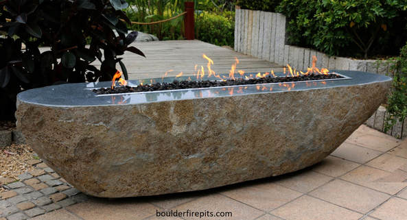 Basalt & Granite Fire Pits - Welcome to boulder fire pits